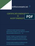 Certificat Energetic-iasi, Audit Energetic Iasi