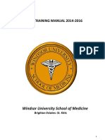 Windsor Clinical Training Manual 2014