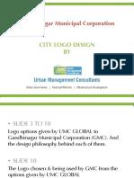 UMC Global Designed Gandhinagar City Logo