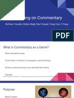 engw commentary presentation  1