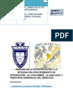Actividad 8 Interpretacion Costumbre Analogia300316 2