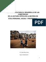Concepto y Fundamento Ontológico de La Moral.
