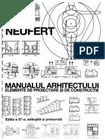 Manualul Arhitectului Ed 37 Neufert