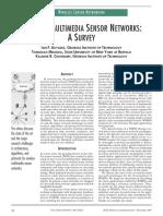 Wireless Multimedia Sensor Networks Survey