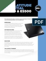 Dell Latitude e5400 e5500