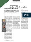 Les Enjeux Des Outils de Notation Et d Octroi de Credit 01 2004