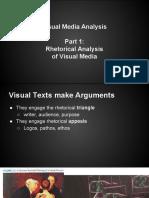 visual texts for visual media analysis part 1