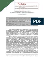 Reforma Del Artículo 23.4 de La LOPJ de La Jurisdicción Universal a La Jurisdicción Extraterritorial