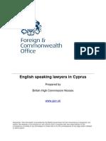 Cyprus Lawyers Translators Template