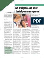 Dental Pain Management