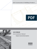 ACO Drain - Installation-brochure