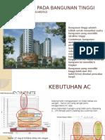 Penerapan Pada Bangunan Tinggi