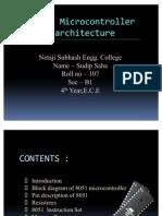 8051 microcontroller architechture_sudip