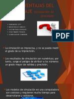 DESVENTAJAS DEL MODELAJE (simulación de procesos)