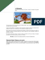 2 Fabulas.docx, Mitos, Parabolas, Rondas y Dinamicas