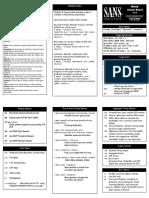Nmap Command Sheet