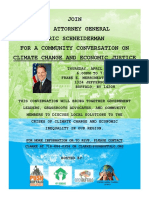 Earth Day Climate Justice Event