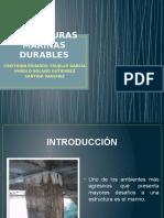 Estructuras Marinas Durables