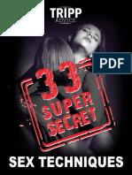 33 Sex Techniques New