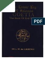 The Lesser Key of Solomon - Goetia