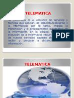 Telematica y Teleinformatica