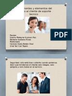 presentación de tipos de clientes
