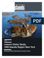 Thousand Islands visitor research