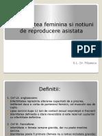 Infertilitatea Feminina Si Notiuni de Reproducere AsistataDrAF