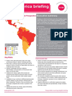 Sedex Briefing Latin America January 2014