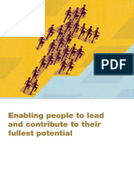 Enabling People to Lead and Contribute to Their Fullest Potential Introduction
