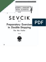 4 - Otakar Sevcik - Preparatory Exercises in Double-Stopping