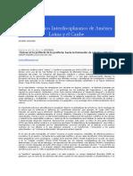 Estudios Interdisciplinarios de América Latina y El Caribe