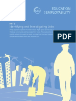Employ_ks3_2 Identifying and Investigating Jobs