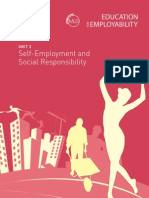 Employ_ks4_3 Self Employment and Social Responsibility