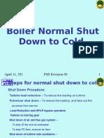 Boiler Normal Shut Down