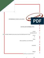 Informe de Deflexion de Vigas Matematica III (1)