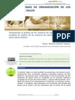 2.2 Paradigmas de Organización de Los Sistemas de Salud