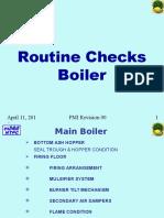 Boiler Walk Down Checks PMI