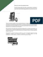 El Principio de Funcionamiento de Un Motor de Combustión Interna