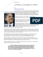 JB Williams - DC Knows That Obama is Ineligible for Office