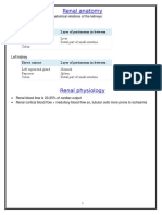Nephrology Notes 2015