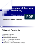 10. Seminar of Services Marketing (1)
