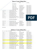 2016 Baltimore County Polling Places