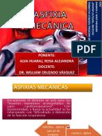 Asfixia Mecánica-Alva Huaraj, Rosa Alejandra