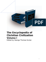 Encyclopedia of Christian Civilization The Christians entry.doc
