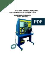 Lab Sheet (Anti-lock Braking System)