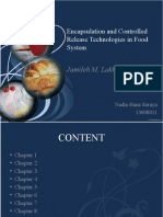 Encapsulation and Controlled Release Technologies in Food System - 13008011