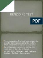 Benzidine Test