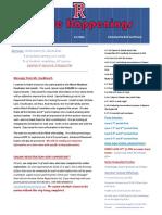 April 16 Newsletter