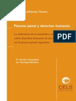 Proceso penal y derechos humanos por Jose Cafferata Nores